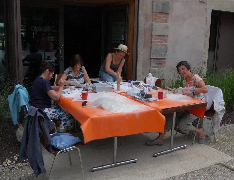 L'atelier en été